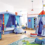 Дизайн детской комнаты для двух девочек на тему экзотики