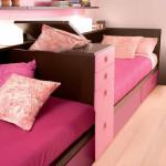 Дизайн детской комнаты для двух девочек равного возраста