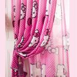 Французские шторы в детскую для девочки