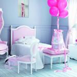 Красивый дизайн детской комнаты для двух девочек фото