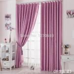 Плотные шторы в детскую для девочки