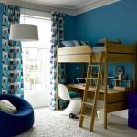 Простой дизайн детской комнаты для двух девочек фото
