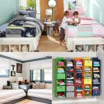 интерьер детской комнаты для разнополых детей - два варианта