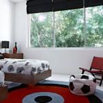 Детские комнаты для двух мальчиков фото дизайн и футбол