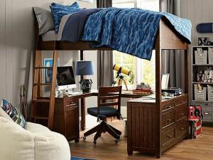 Мебель для детской комнаты для мальчиков фото с кроватью