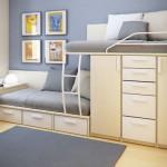Мебель и дизайн проект детской комнаты для двух мальчиков