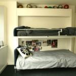 Минимализм и дизайн детской комнаты для двух мальчиков