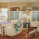 Морская модульная мебель для детской комнаты для мальчика