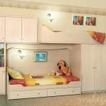 Практичная модульная мебель для детской комнаты для мальчика