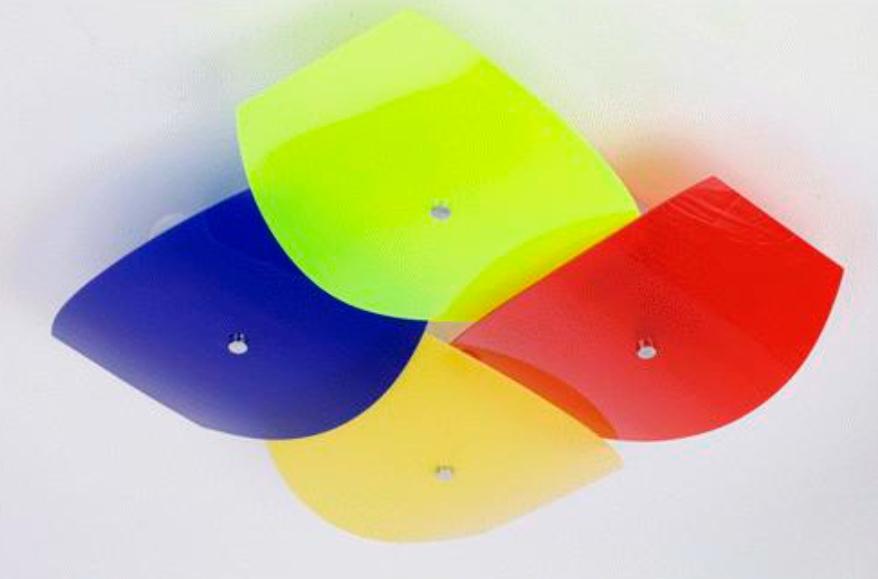 Люстры для детской комнаты в цветовой гамме