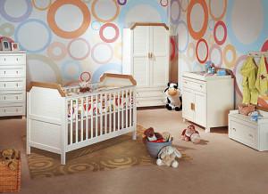Цвет стен в детской разных оттенков