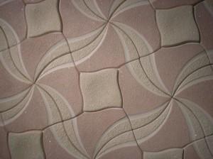 Как правильно наклеить потолочную плитку неправильной формы
