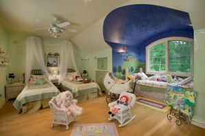 Мебель детская для двоих для двух девочек