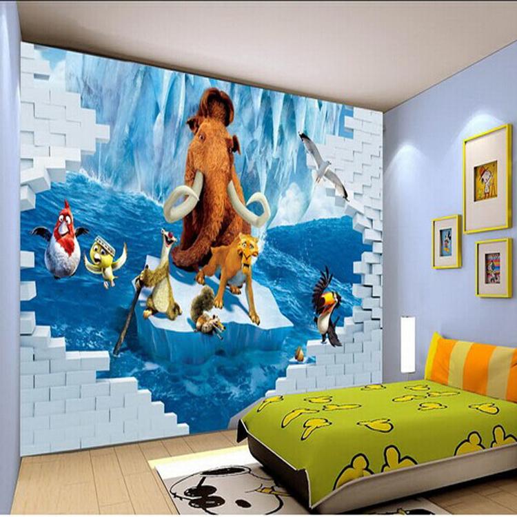 3 Д обои – фантастическая реалистичность в Вашем доме