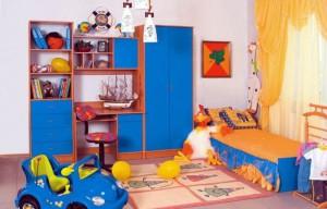 Как расставить мебель в детской