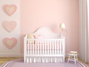 Цвет стен в детской в мягких тонах