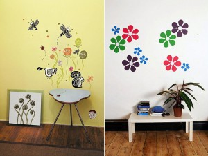 Детские наклейки на мебель и стены