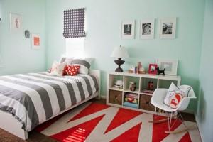 Цвет стен в детской и цвет предметов