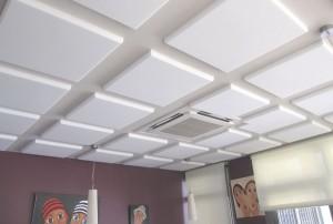 Как правильно наклеить потолочную плитку если она объёмная