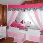 Мебель для детской комнаты для девочек фото кровати