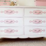 Мебель в детскую комнату для девочек купить белой палитры