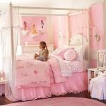 Мебель в детскую комнату для девочек купить в светло-розовом