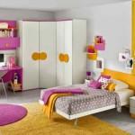 Небольшая мебель детская комната для девочки