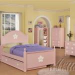 Цветочная мебель для детской комнаты девочки 7 лет