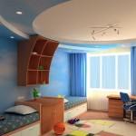 Изящная планировка детской комнаты 14 кв м фото интерьера