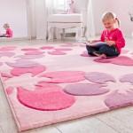 Ковры в детскую комнату для девочки из мягкого материала