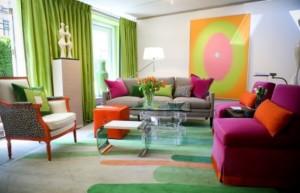 Красивые особенности комнаты или как сочетать цвета в интерьере