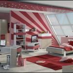 Красные ковры в детскую комнату для мальчика