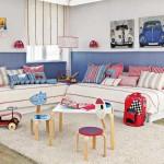 Просторная детская комната фото и варианты планировки