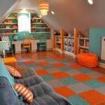 Просторные ковры детские фото