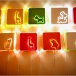 Светодиодная подсветка в детской зверюшки