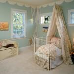 Балдахин на детскую кроватку своими руками над потолком