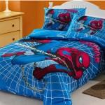 Детские красивые покрывала на кровать фото с спайдерменом