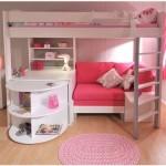 Двухъярусный детский диван кровать с бортиками