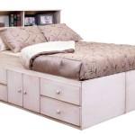 Функциональные односпальные кровати с ящиками для белья фото