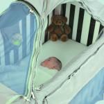 Как крепить балдахин на детскую кроватку каркасный