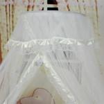 Как сшить балдахин на детскую кроватку своими руками