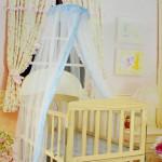 Как вешать балдахин на детскую кроватку быстро