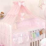 Как закрепить балдахин на детскую кроватку правильно