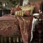 Королевские покрывала на кровать в спальню фото