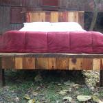 Красивая кровать своими руками из дерева чертежи фото