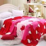 Красное покрывало на кровать фото новинки красивые