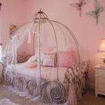 Кровать для девочки фото в виде кареты