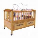 Кровать для ребенка 2 лет с бортиками и колесиками