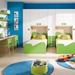 Мебель в стенке и ремонт в детской комнате фото