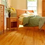 Натуральная кровать своими руками из дерева фото